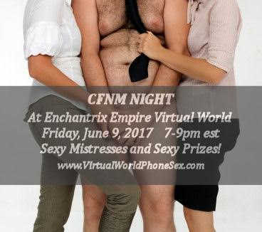 CFNM party in out virtual world! Cum get naked for us!